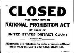 Prohibition-Closed-Sign